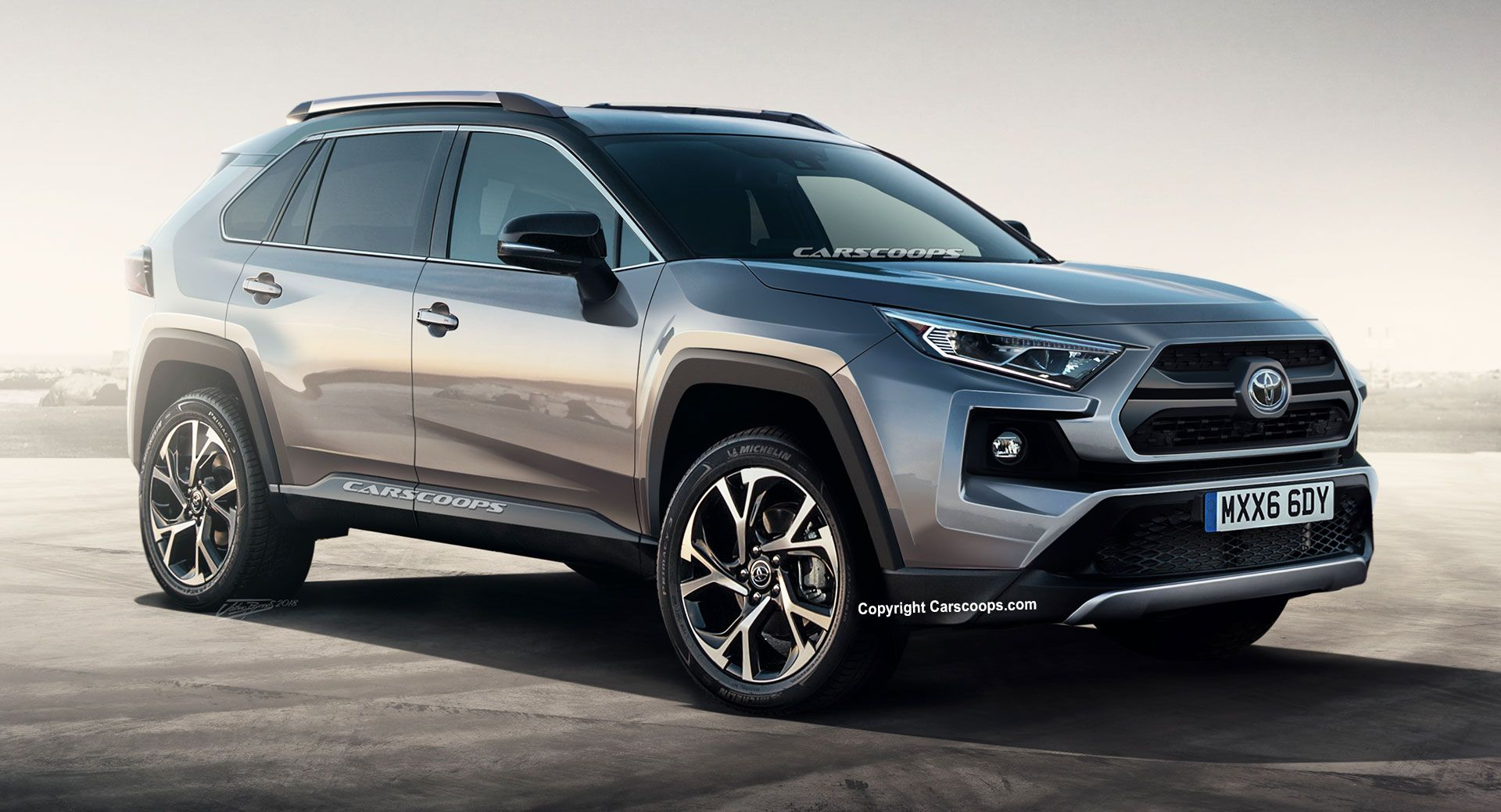 2019 toyota rav4 everything we know from specs news to renders and teasers updated suv. Black Bedroom Furniture Sets. Home Design Ideas