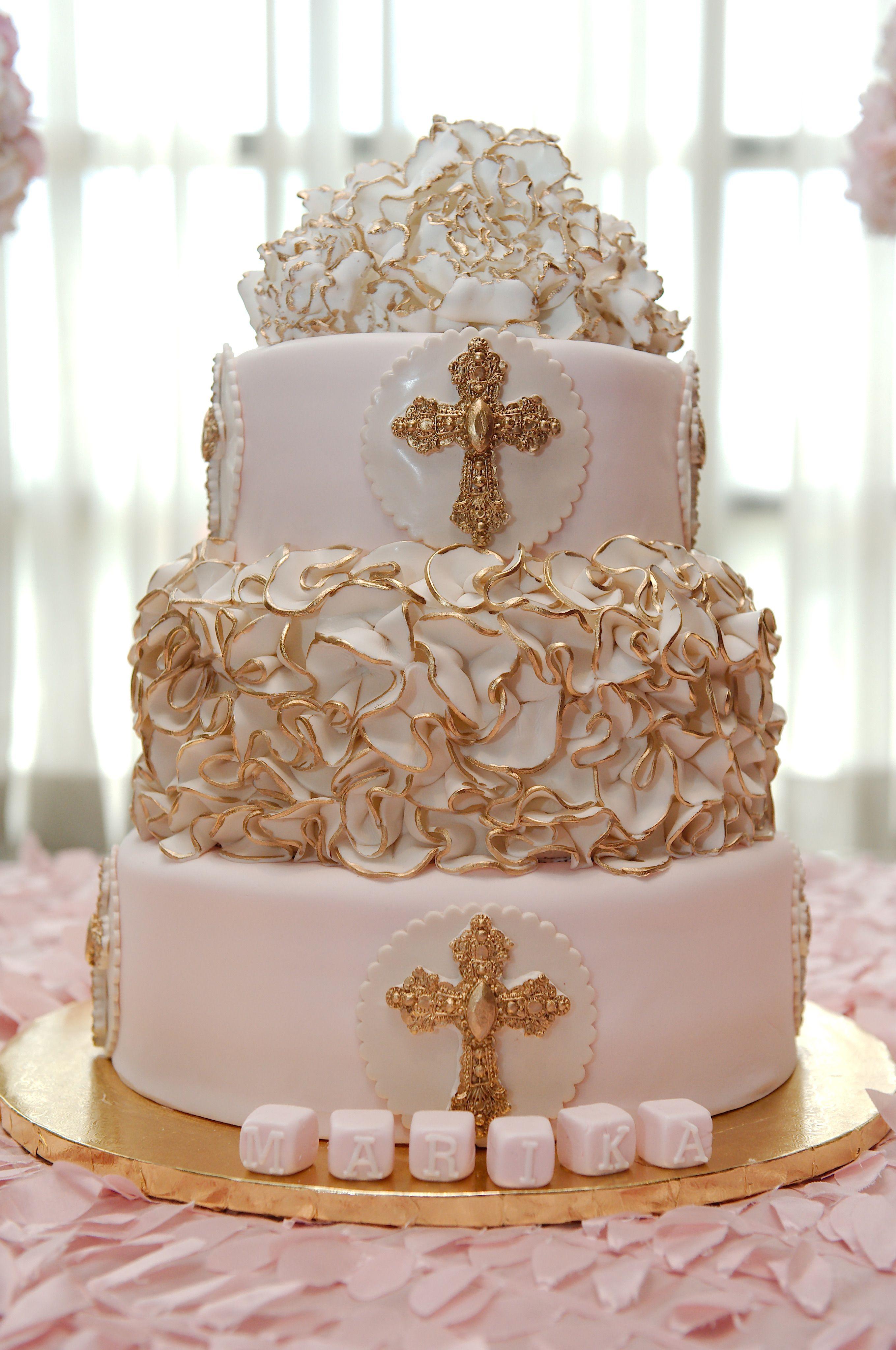 Baby girl baptism cake baptism cake girl baptism