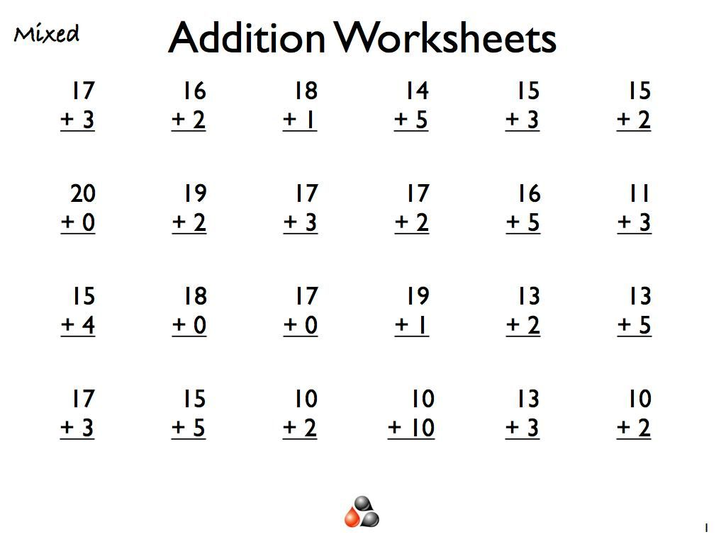10 Printable Math Worksheets For 1st Graders Addition Worksheets Math Addition Worksheets Math Worksheets