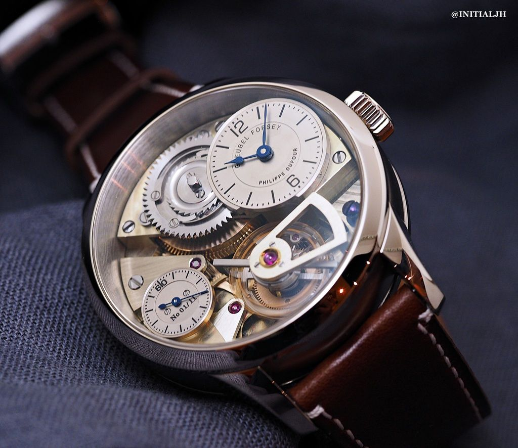 GREUBEL FORSEY & PHILIPPE DUFOUR : Le Garde Temps ...