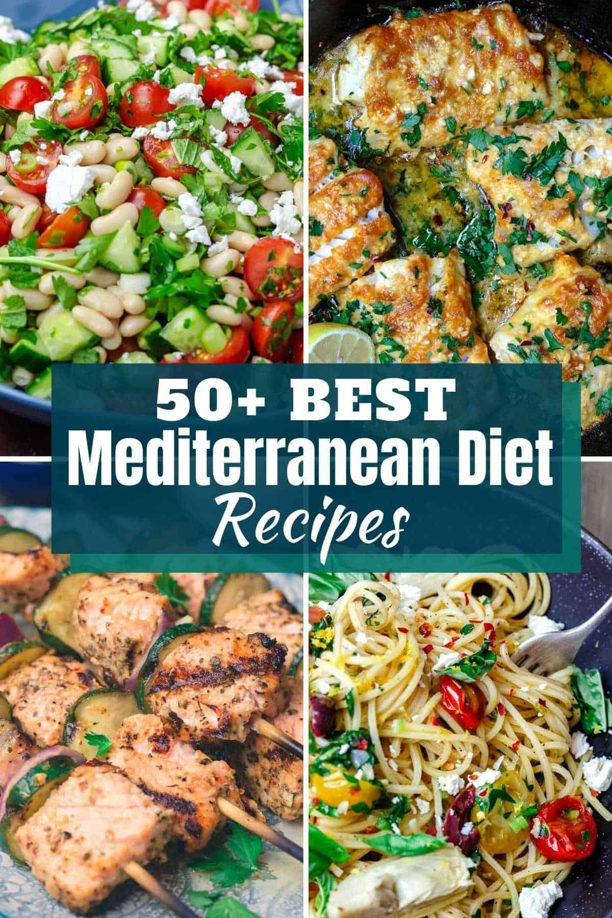 50+ Mediterranean diet recipes you'll love!