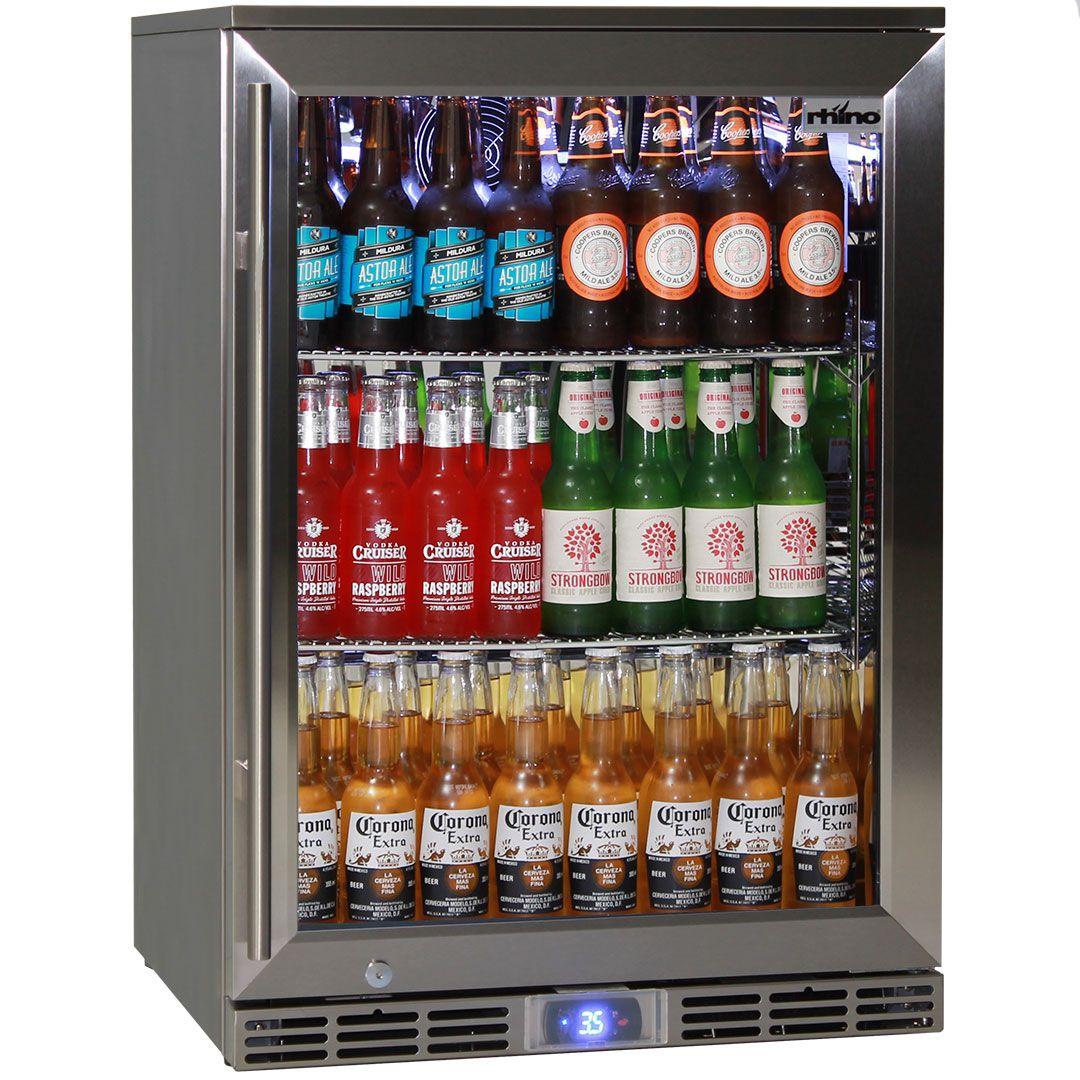 Outdoor Bar Fridge Under Bench Made To Keep Beer Cold In 40 C Temperatures Bar Fridges Beer Fridge Outdoor Bar