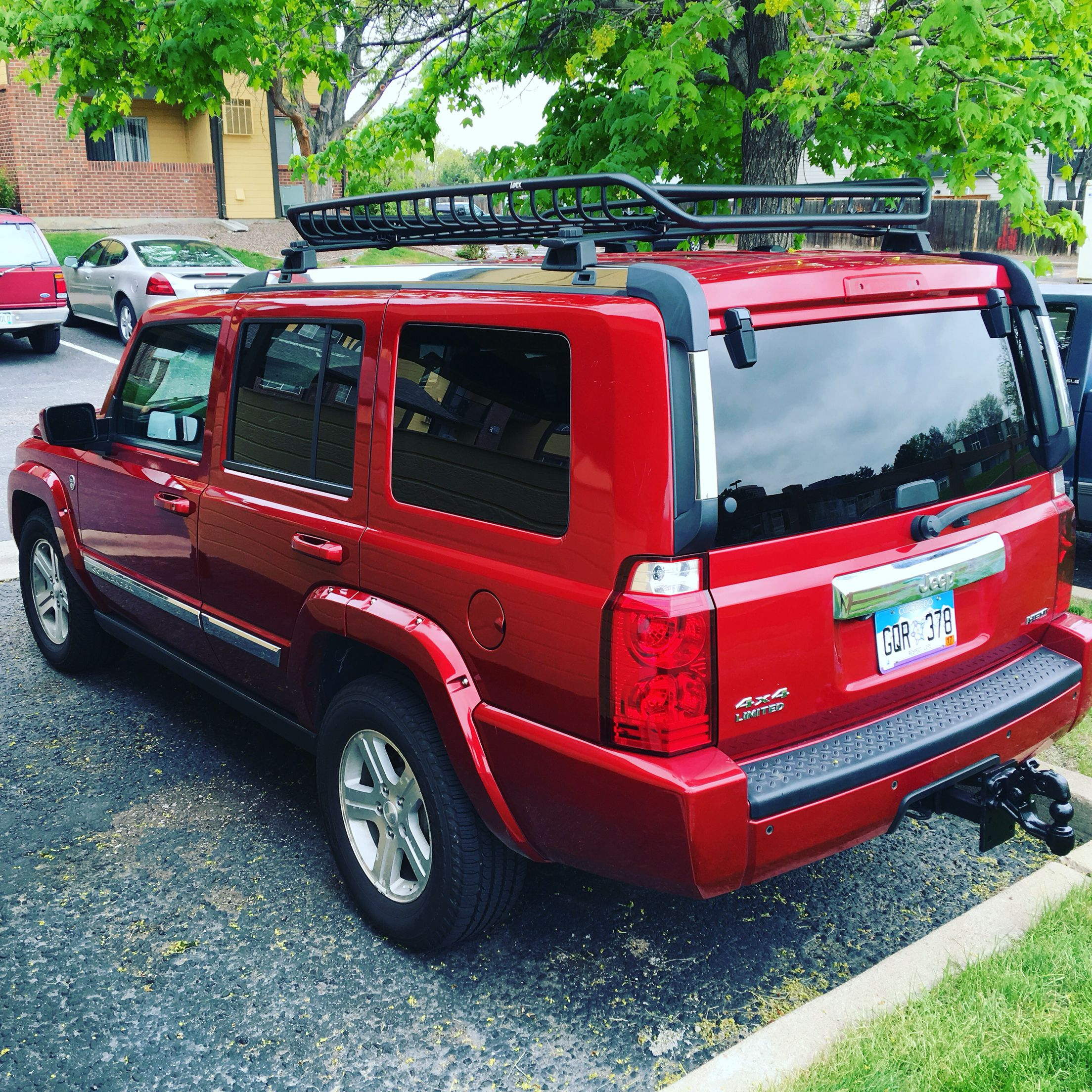 10 000 Lbs Tow Hitch 2010 Jeep Commander Limited Hemi 5 7 Liter