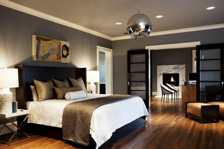 Creative Ideas To Change Your Conventional Bedroom Furniture To Espresso Bedroom Furniture Gray Master Bedroom Contemporary Bedroom Remodel Bedroom