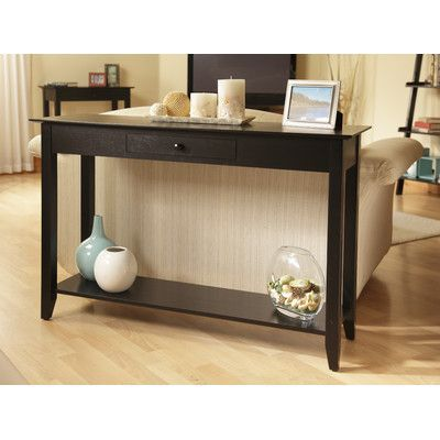 Convenience Concepts American Heritage Console Table Finish
