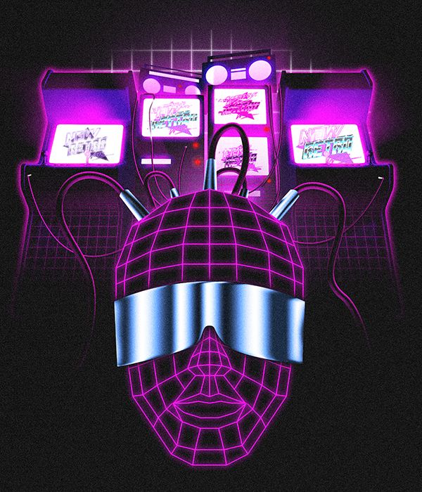 New Retro Wave Restyling on Behance | 80's | Retro waves