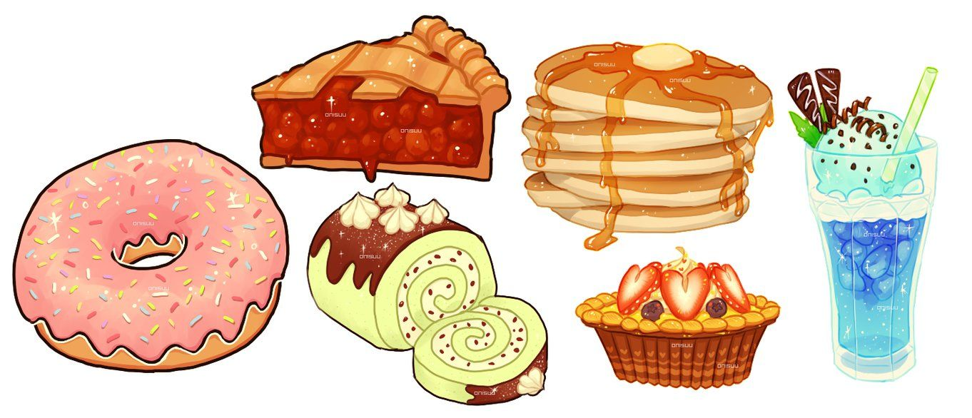 Foods by onisuu