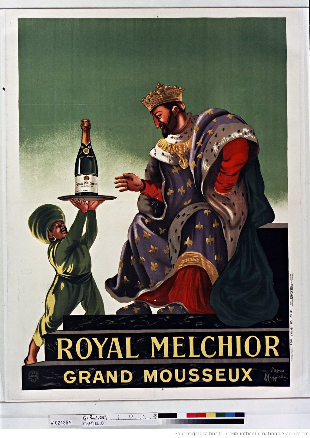 Title Royal Grand Melchior Mousseaux Poster By