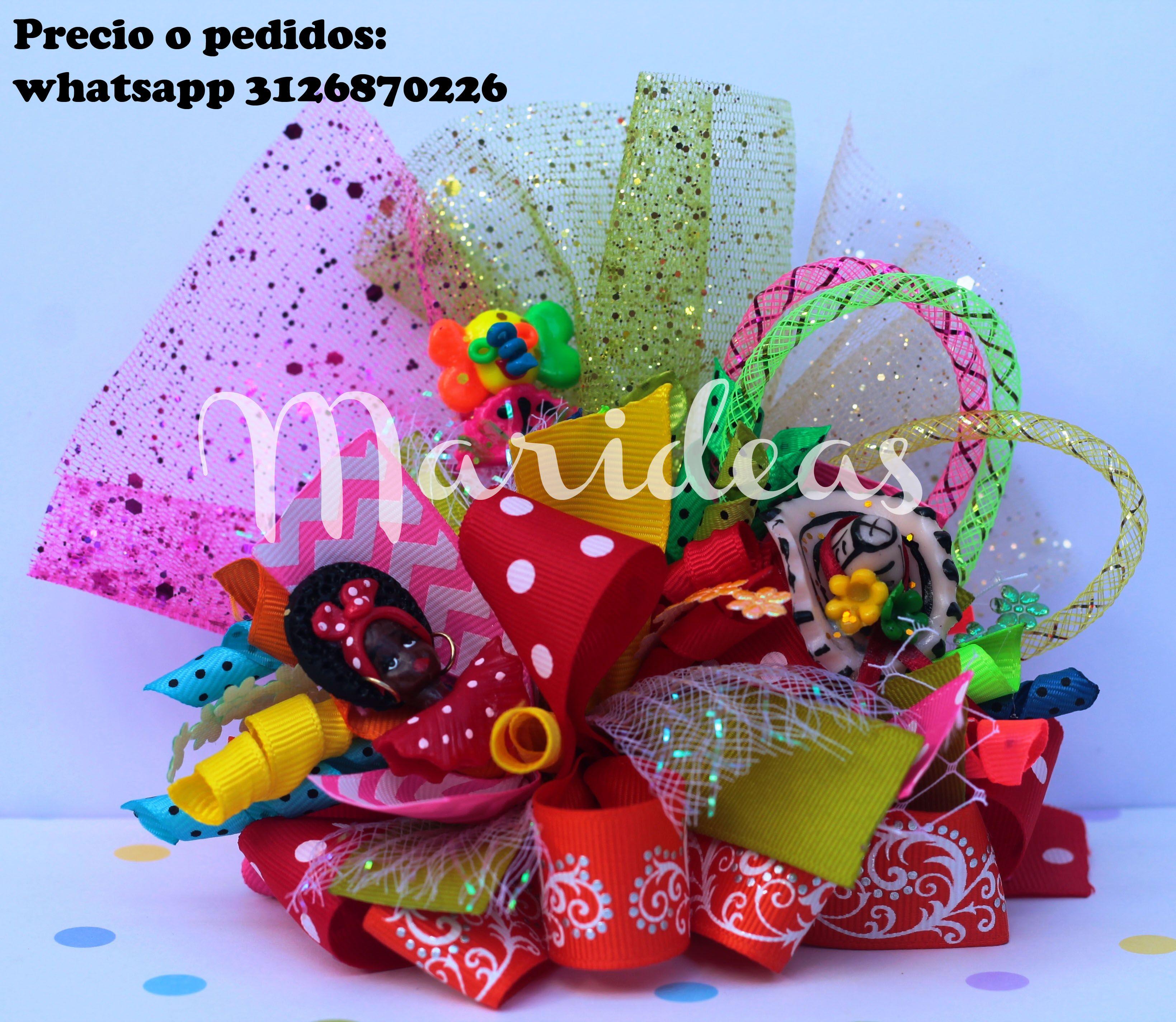 Moño Funky Carnaval de Barranquilla :: Marideas