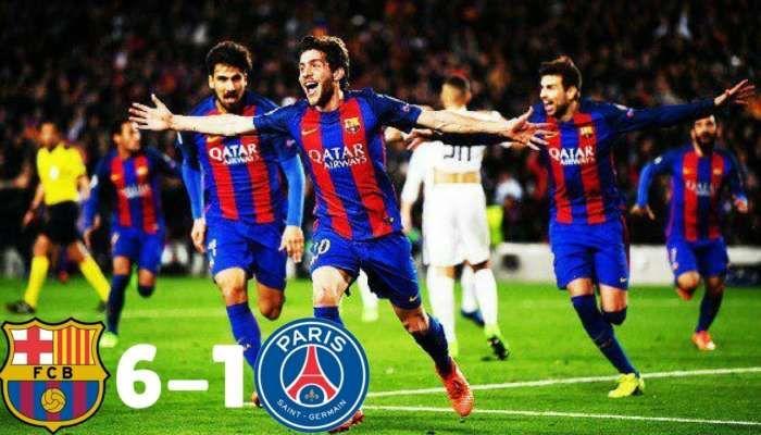 Barcelona Vs Psg Humillacion Del Barcelona Al Psg Goleada 6 1 Resumen Del Partido Milagro Divertido Viral Sports Bbc Sport Football Barcelona