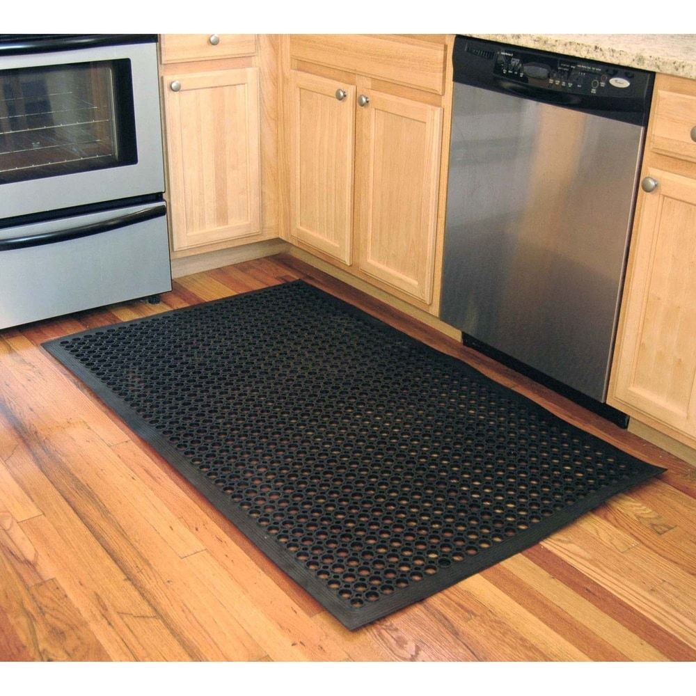 Buffalo Tools 2 X 3 Foot Industrial Rubber Floor Mat Set Of 3