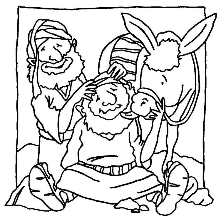 buon_samaritano_27.jpg (752×752) | Parabole du bon Samaritain ...