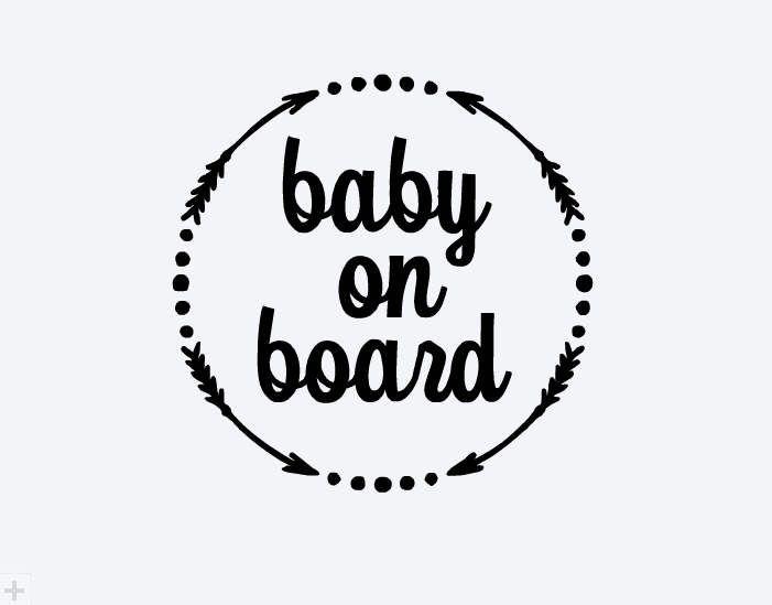 Baby On Board Car Decal Baby On Board Car Decal Baby On Etsy Cricut Baby Cricut Projects Vinyl Cricut Baby Shower