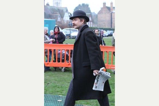 Sherlock filming in Gloucester 18