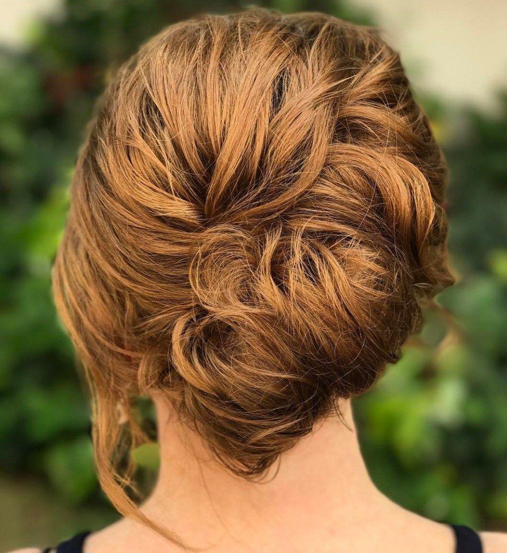 50 Stylish French Twist Updos French Twist Hair Short