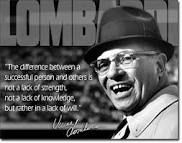 quote lombardi - Google Search