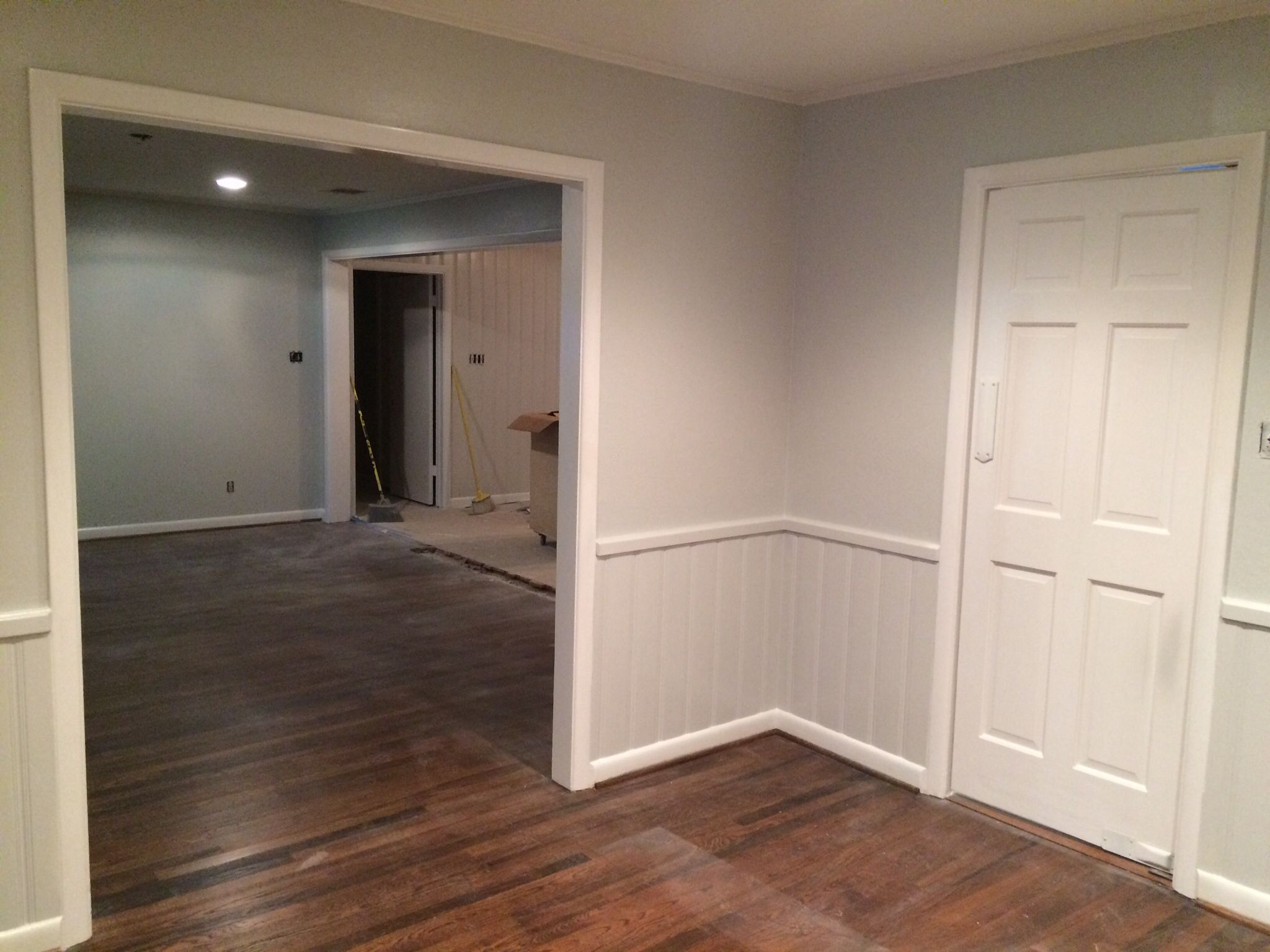 Sherwin williams popular greys - Sherwin Williams On The Rocks Perfect Shade Of Gray Not Too Warm