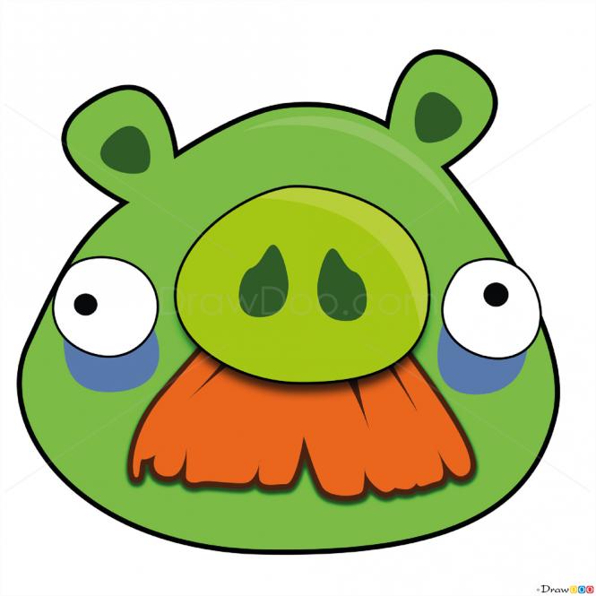 Image Hurt Png Birds Angry Birds Pig Hurt Clipart Angry Birds Pigs Angry Birds Birds