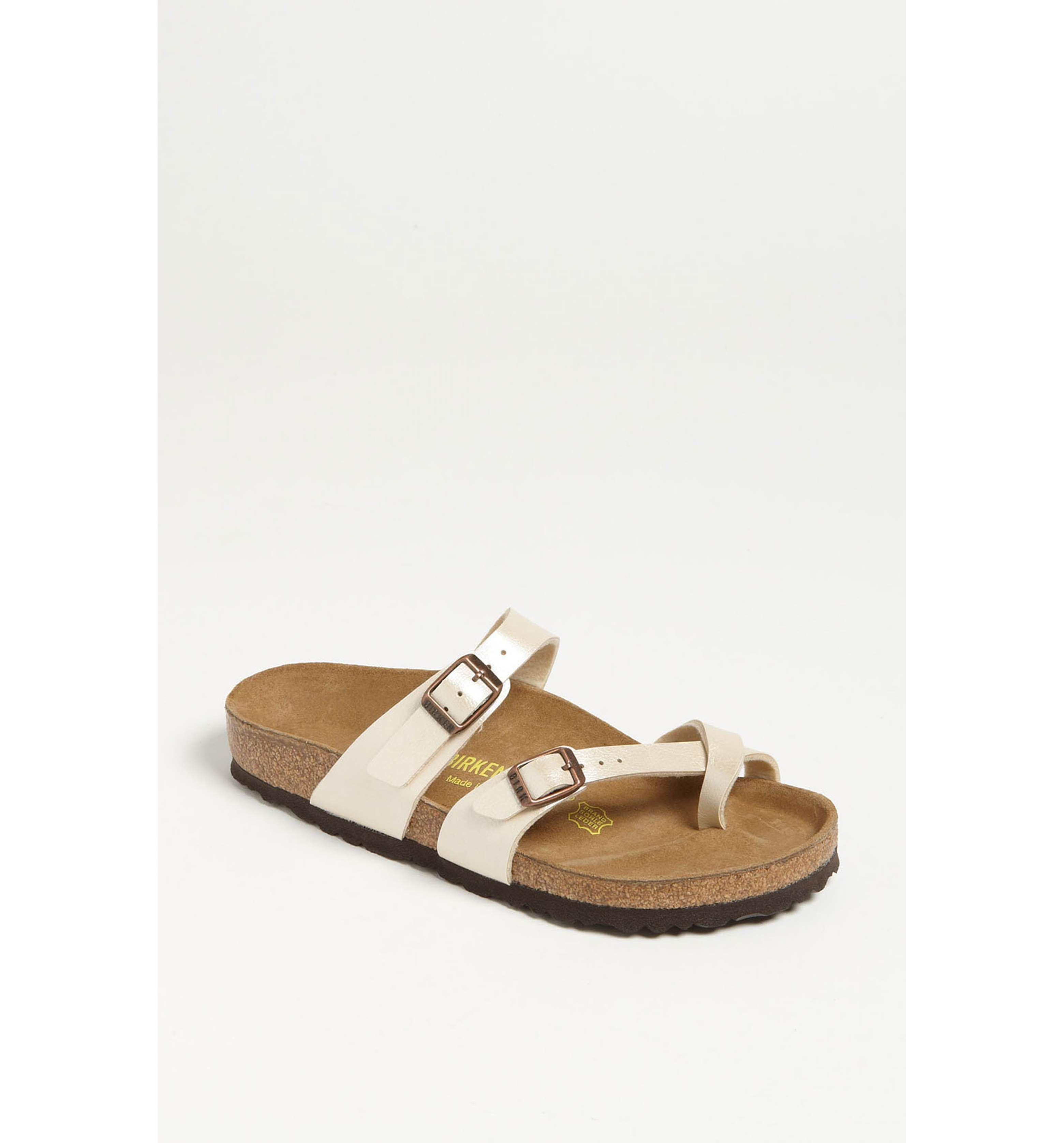 95577bd63265 Main Image - Birkenstock  Mayari  Birko-Flor™ Sandal (Women ...