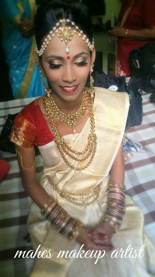 Bride Rebecca on her special day!    #indianwedding #indian #indianbride #indianbridal #southindianbride www.theindianbride.net