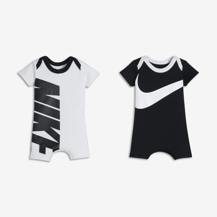 62bb397ce0 Nike Logo Two-Piece Infant Romper Set | #ChildGoals | Baby boy ...