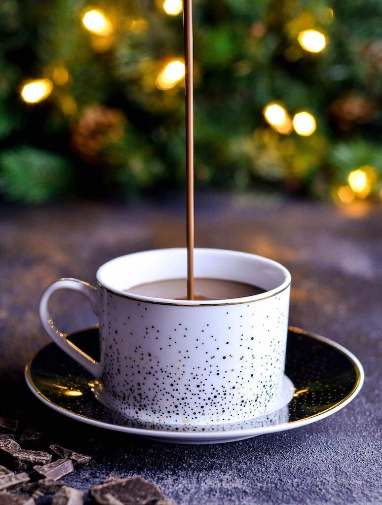 Ultra thick & creamy DairyFree Hot Chocolate recipe for
