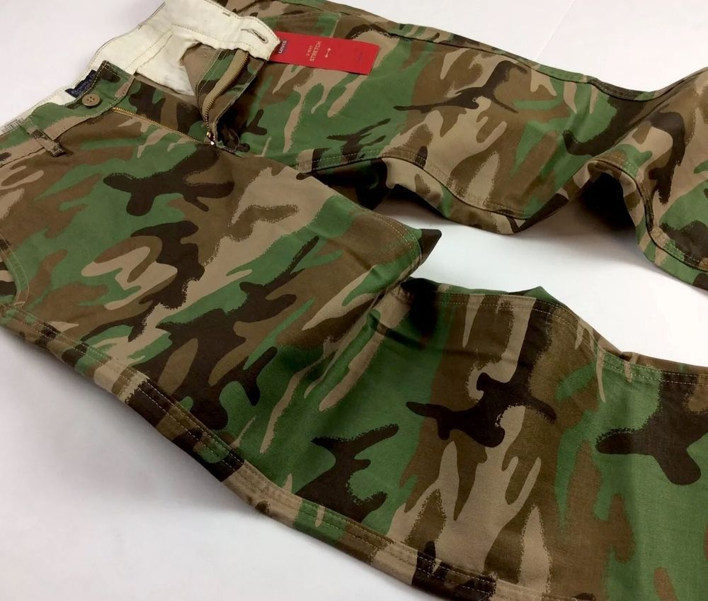 Levis levis men 541 military us army camo athletic chino