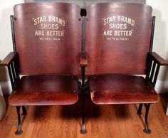 Vintage Theater Chairs