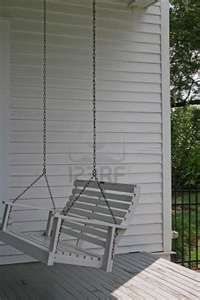 Old Wooden Porch Swing Royalty Free Stock Photo, Pictures, Images And ...