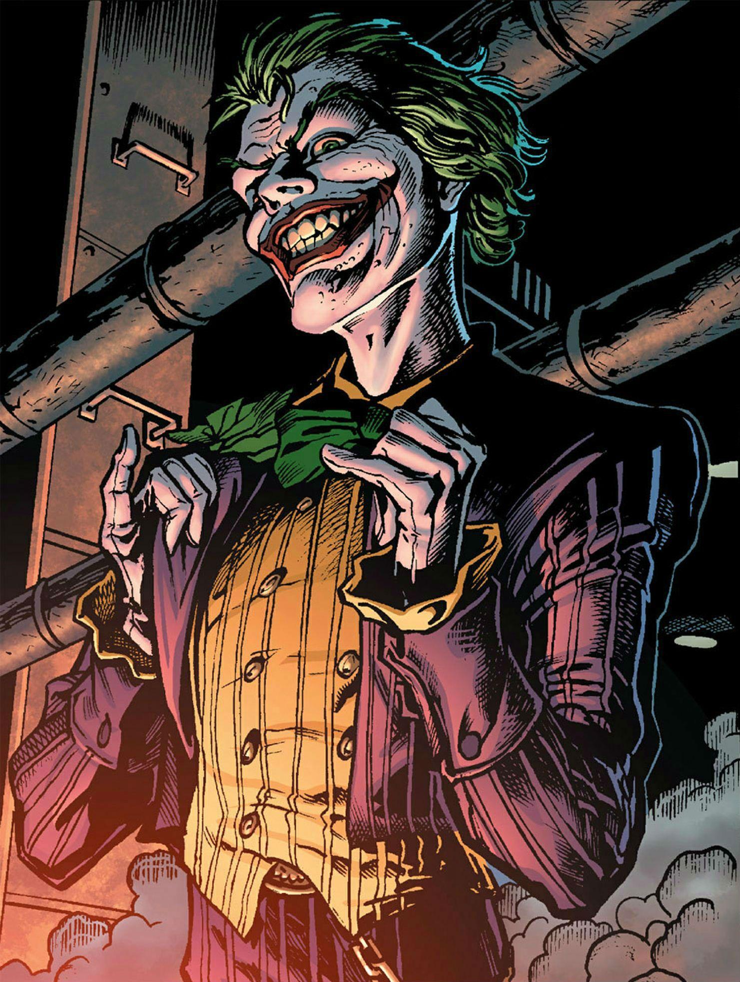 картинка джокера из комиксов костюм летучей