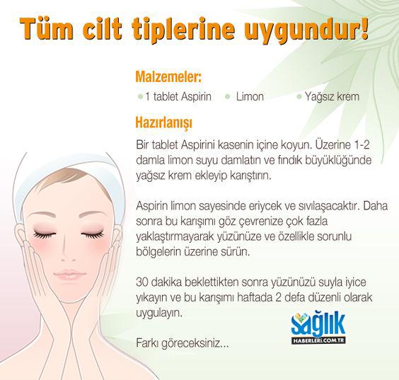 Tüm cilt tiplerine uygulayabilirsiniz..!  #ciltbakımı #sağlık #saglik #sağlıkhaberleri #health #healthnews #skincare