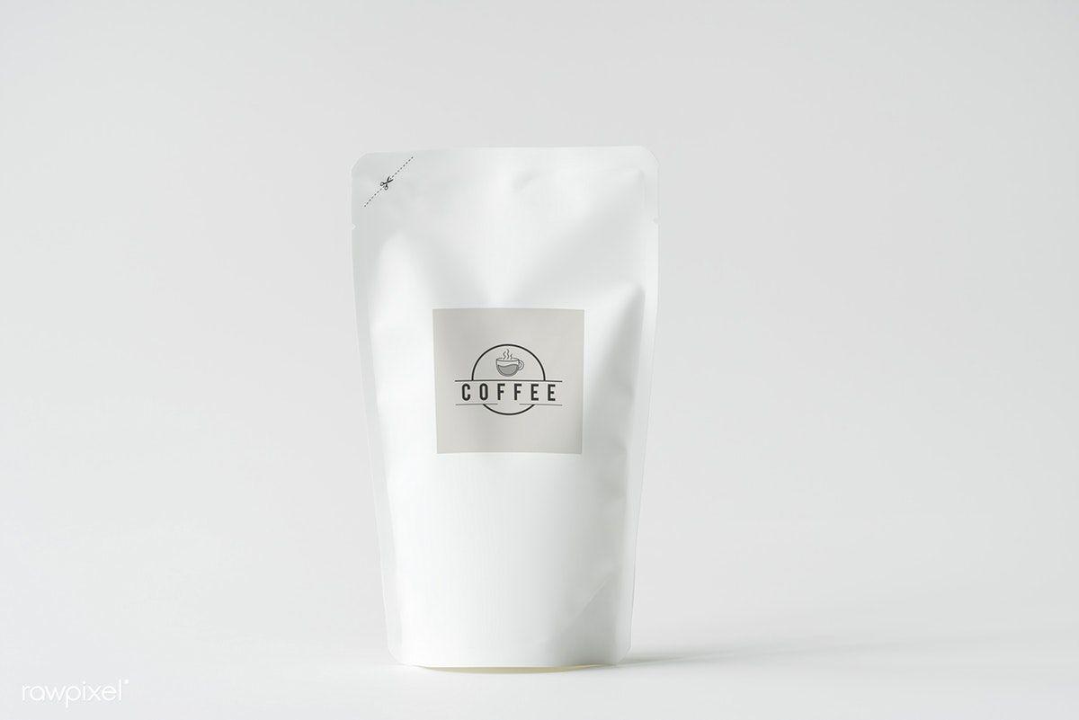 Download Premium Image Of White Paper Bag Branding Mockup 418694 Branding Mockups Paper Bag Paper Pouch