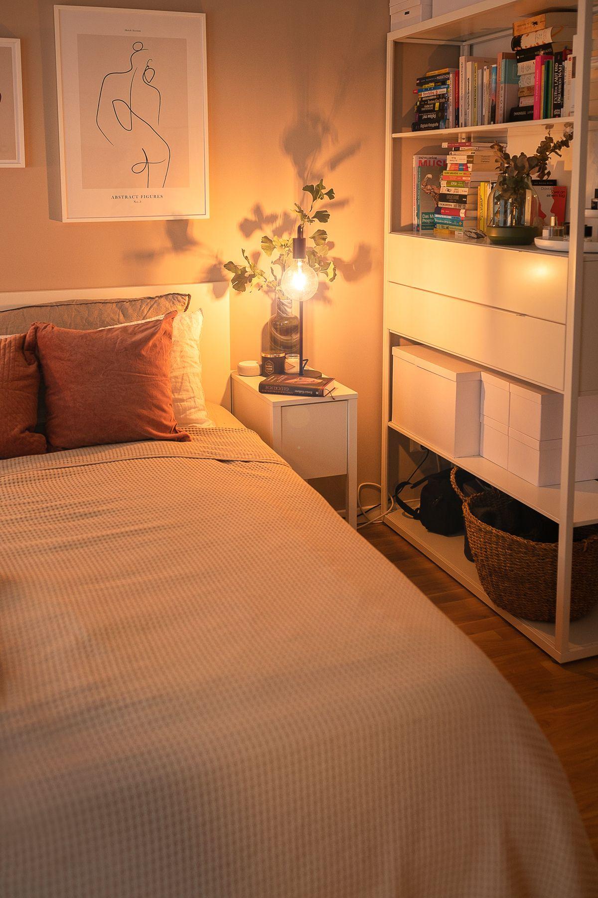 Schlafzimmer Update: So habe ich meinen Schlafbereich gemütlich eingerichtet! – Kleidermaedchen: Fas
