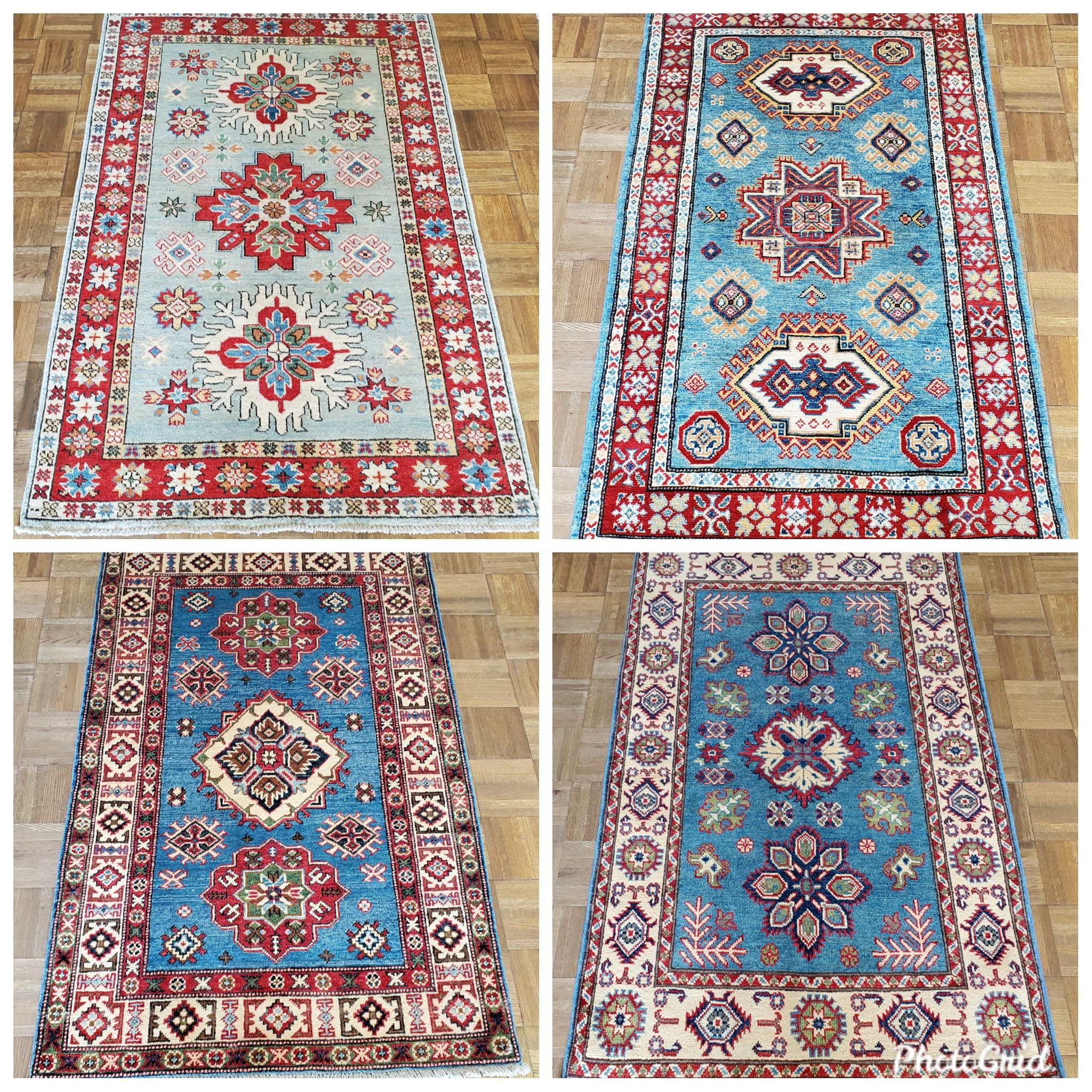 Vintage Kazak 3x5 pieces!  all-natural, directly imported! $395 reduced from $1190! Grab them!  Call 205-870-4444 or drop by if it's for you!  Please share! 🙋♀️  #nilipourorientalrugs #MayDayDeal #familybusiness #since1972 #fullservice #shoplocal #happycustomer #artyoucantreadon #orientalrug #rug #arearug #naturalfibers #wholesaleprices #directimporting #affordableluxury #functionalrug #practicalrug #appeal #qualityrug #investment #conversationpiece #Lifestyle #rugcleaning #orientalrugcleaning