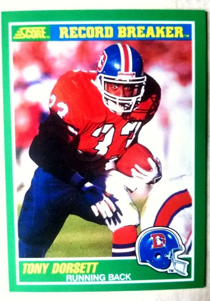 Wholesale 1989 score tony dorsett denver broncos card #326 mint condition  for sale