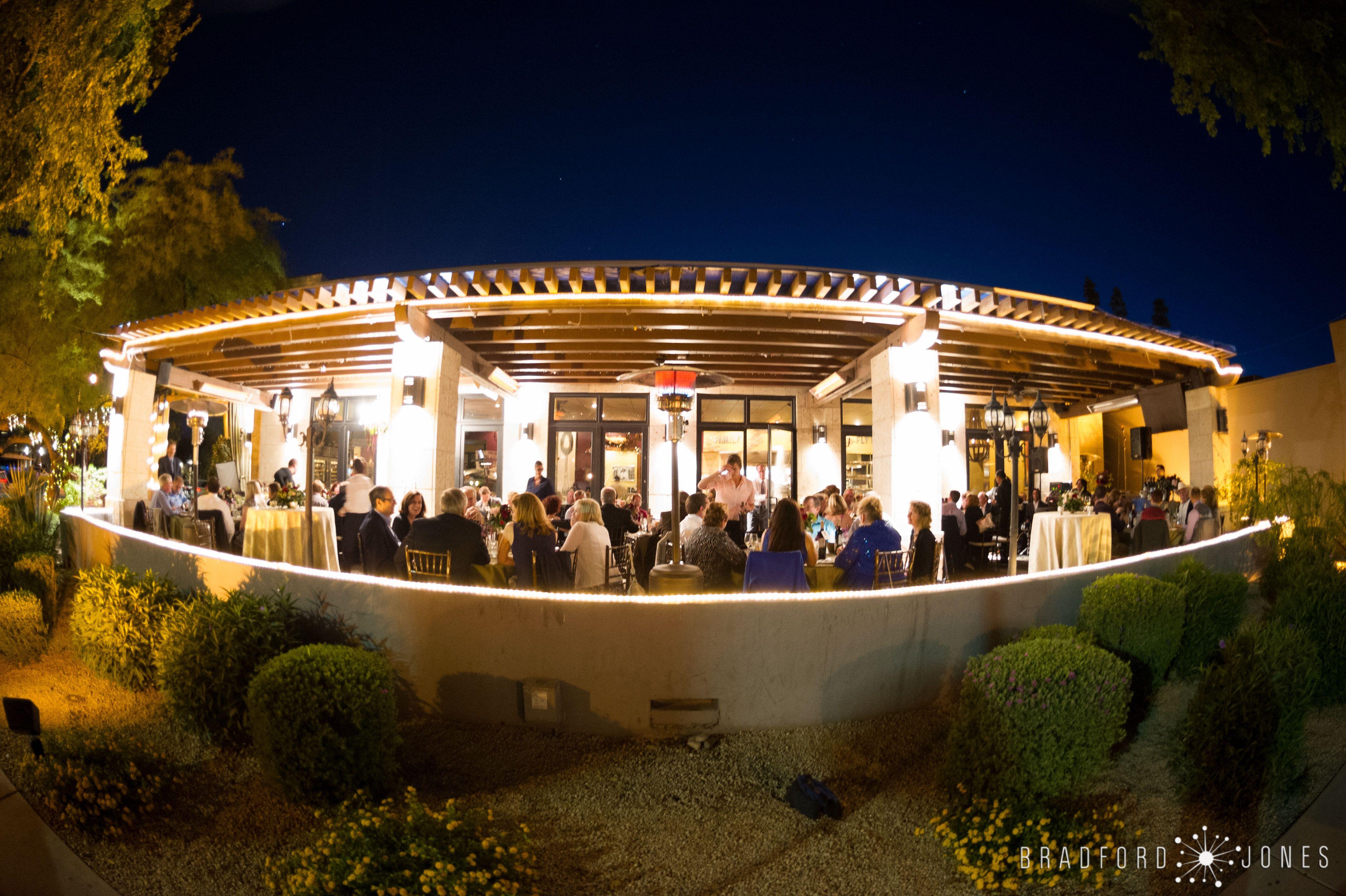 Old Town Scottsdale Wedding Arizona Planner Sip And Twirl Eddies House Patio