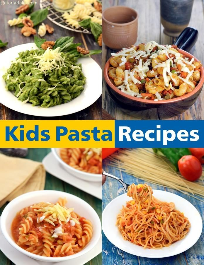 Kids Pasta Recipes 66 Childrens Veg