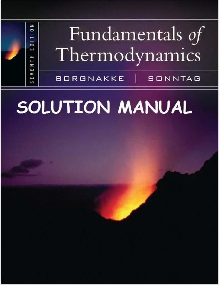 fundamentals of thermodynamics 7th edition solution manual textbook rh pinterest com thermodynamics 7th edition solution manual pdf cengel boles thermodynamics 7th edition solution manual