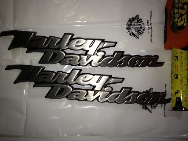 Big Sale Harley Davidson Fuel Gas Tank Emblems Emblem Set Badges Emblems Emblem Badges Tank Fuel Harley Davids Fuel Gas Harley Davidson Decals Gas Tanks