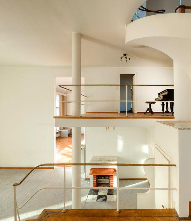 josef frank: villa beer, wien, 1929 -31 | interiors & home style, Innenarchitektur ideen