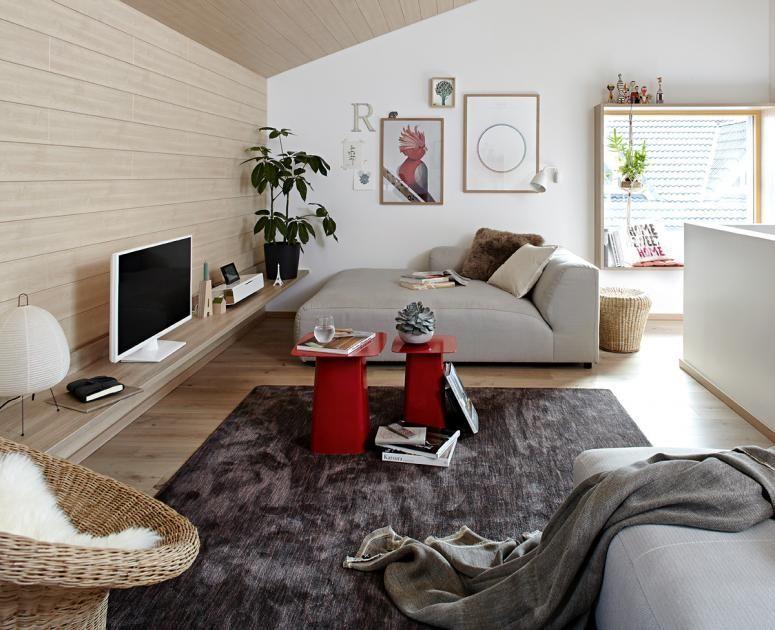 Rume mit Dachschrgen  die besten Wohntipps  Wohnzimmer