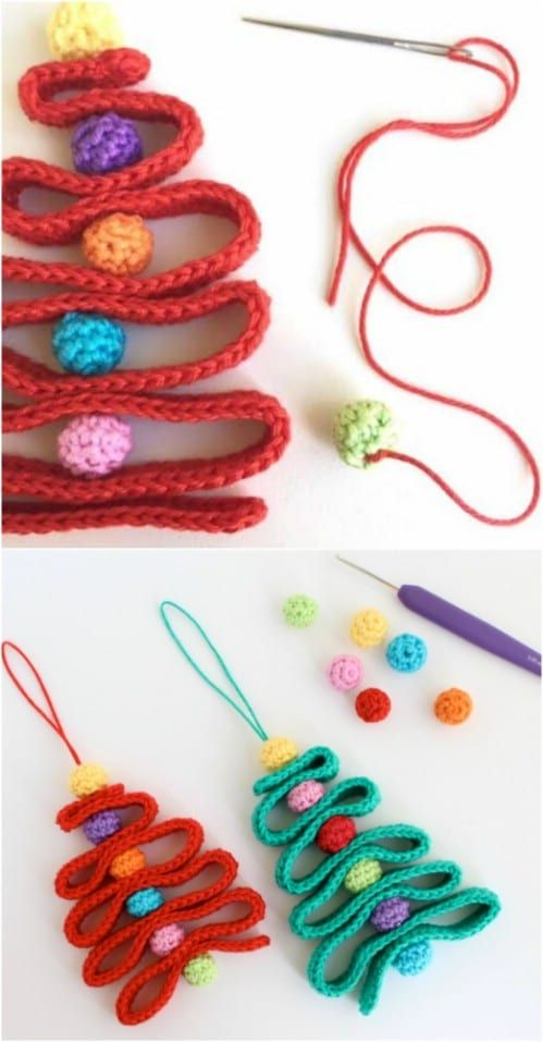 30 Easy Crochet Christmas Ornaments To Decorate Your Tree Check more at https://diydoityourse...