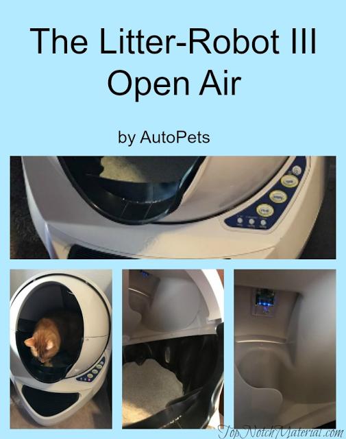 Top Notch Material Litter Robot III Open Air Review and