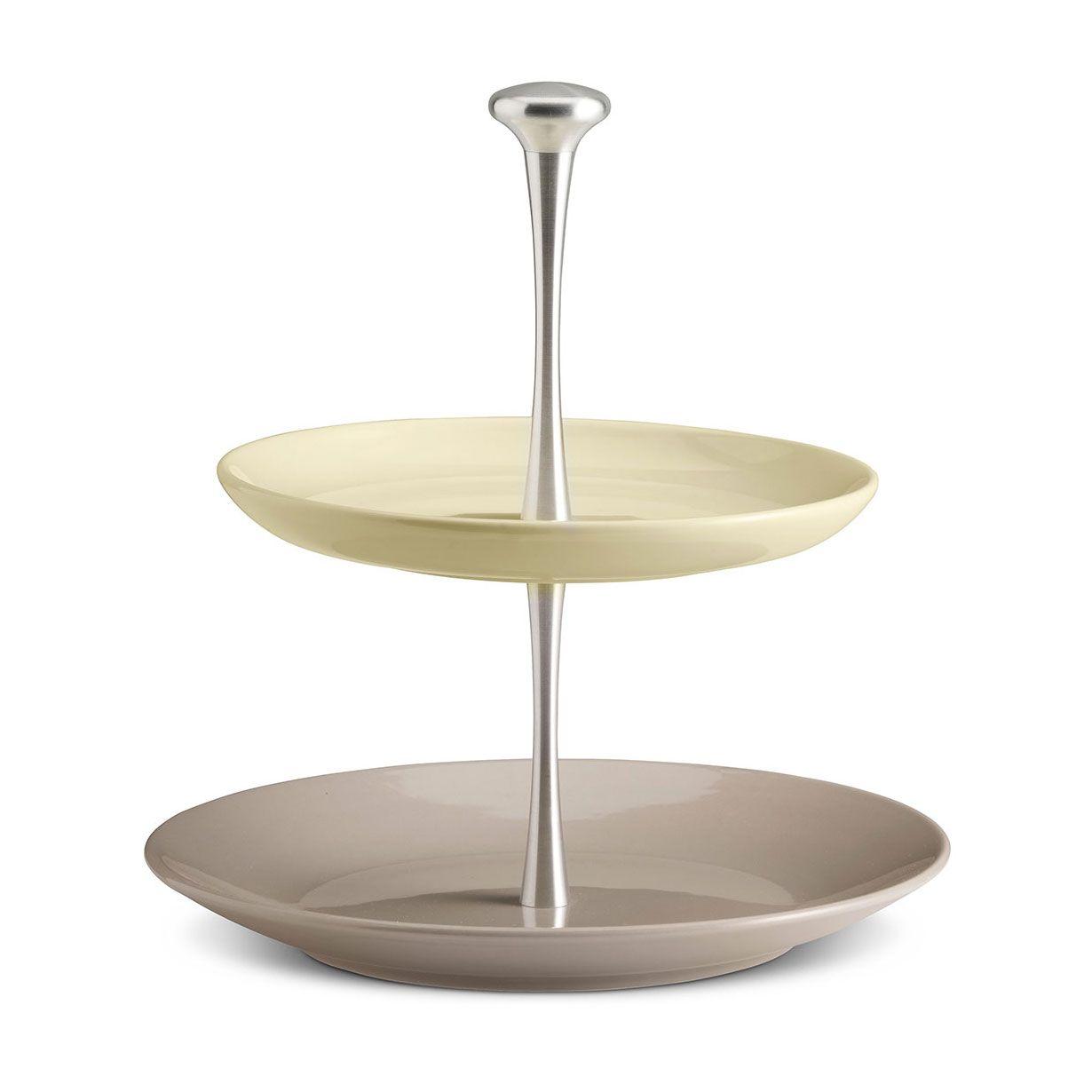 Alzatina Alluminio Per Cucina articolo: k1930014091f14003felegante alzata a 2 ripiani