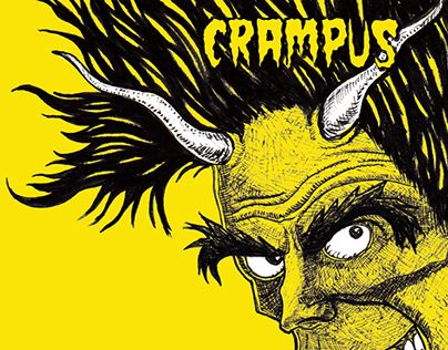 """Check out new work on my @Behance portfolio: """"The Crampus"""" http://be.net/gallery/32356719/The-Crampus"""