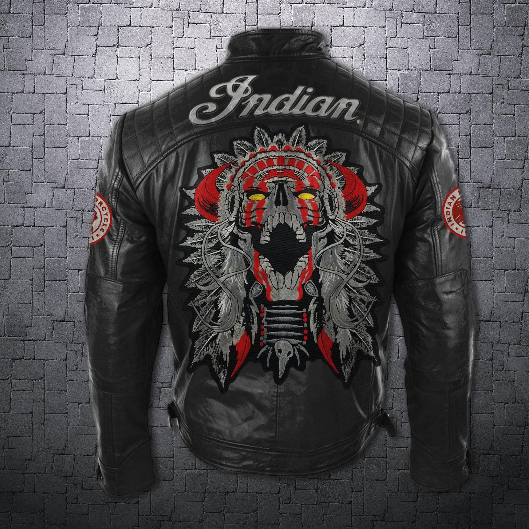 Men's Leather Jacket Indian in 2020 Leather jacket men