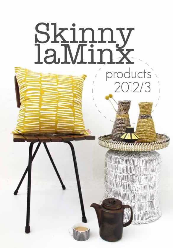 Skinny La Minx 2013 fabric range. Like this sticks pattern.