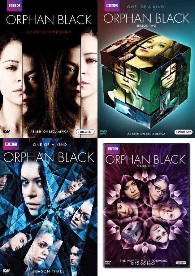 Orphan Black Dvd Season 1 5 Complete Set Orphan Black Orphan Orphan Black Serie
