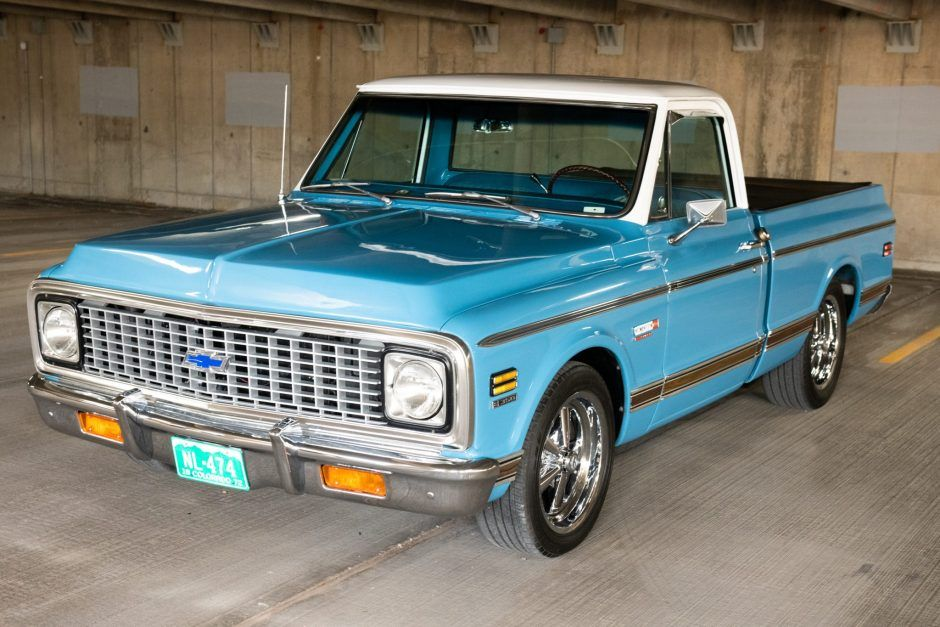 1972 Chevrolet C10 Pickup In 2020 Chevrolet Power Wagon Chevrolet Trucks