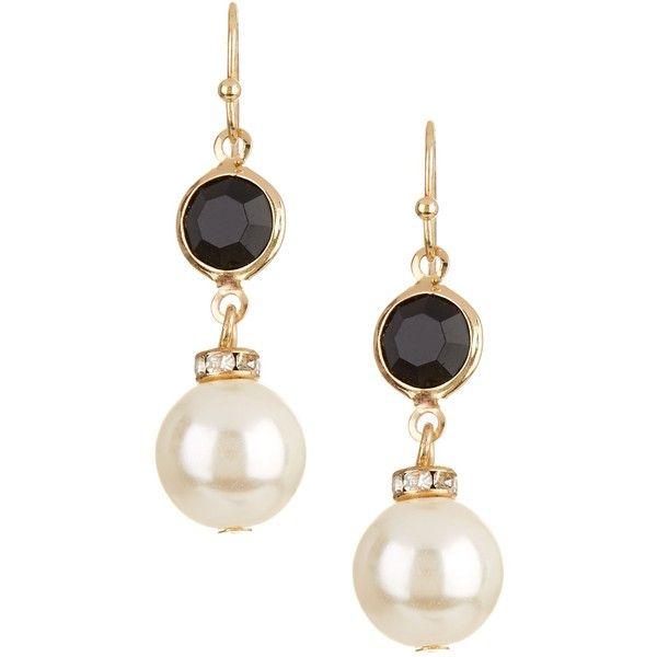 Nordstrom Rack Faux Pearl Drop Earrings 5 84 Liked On Polyvore Featuring Jewelry